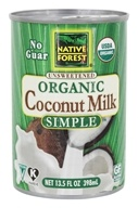 Native Forest - Organic Unsweetened Coconut Milk - 13.5 oz.