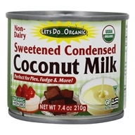 Let's Do...Organic - Sweetened Condensed Coconut Milk - 7.4 oz.