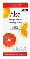 Alsa - Energy Drink Mix Three Citrus - 12 Packet(s)