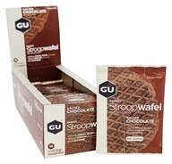 GU Energy - Energy Stroopwafel Box Salted Chocolate - 16 Waffles