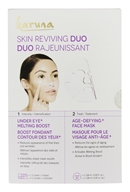 Skin Reviving Duo Under Eye Boost & Age-Defying Face Sheet Mask - 2 Count by Karuna