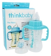 Sippy Cup Stage C 9 Months to 2 Years Light Blue - 9 oz.