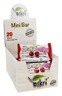 Oskri - Gluten-Free Mini Coconut Bars Cherry Yogurt - 20 Bars