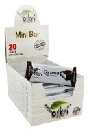 Oskri - Gluten-Free Mini Coconut Bars Dark Chocolate - 20 Bars