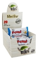 Oskri - Gluten-Free Mini Peanut Bars Yogurt Coating - 20 Bars