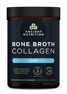 Ancient Nutrition - Bone Broth Collagen Powder Vanilla - 18.2 oz.