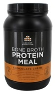 Ancient Nutrition - Bone Broth Protein Meal Chocolate Creme - 28.6 oz.