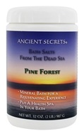 Ancient Secrets - Bath Salts From the Dead Sea Pine Forest - 2 lbs.