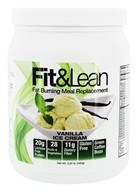 Fit & Lean - Fat Burning Meal Replacement Vanilla Ice Cream - 0.97 lb.