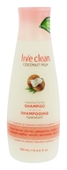 Live Clean - Moisturizing Shampoo Coconut Milk - 12 fl. oz.