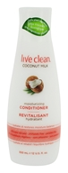 Live Clean - Moisturizing Conditioner Coconut Milk - 12 fl. oz.