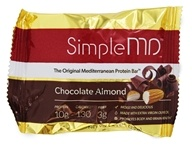 SimpleMD - The Original Mediterranean Protein Bar Chocolate Almond - 1.23 oz.
