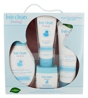 Live Clean - Baby Skincare Essential Gift Set - 4 Piece(s)