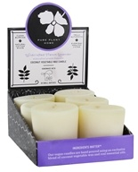 Pure Plant Home - Coconut Vegetable Wax Blend Votive Candle Wildcrafted French Lavender - 1.9 oz.