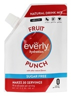 Everly - Hydration Natural Sugar Free Drink Mix Fruit Punch - 2.1 oz.