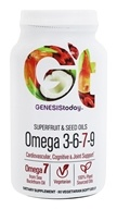 Genesis Today - Superfruit & Seed Oils Omega 3-6-7-9 - 90 Vegetarian Softgels