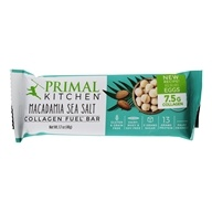 Primal Kitchen - Gluten-Free Bar Made with Grass Fed Collagen Macadamia Sea Salt  - 1.7 oz.