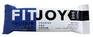 FitJoy Nutrition - Protein Bar Cookies and Cream - 2.11 oz.