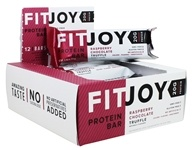 FitJoy Nutrition - Protein Bar Raspberry Chocolate Truffle - 12 Bars