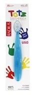 Totz Extra Soft Toothbrush for Ages 18 Months + Blue Sparkle by Radius