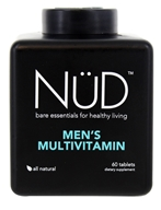 NUD - Men's Multivitamin - 60 Tablets