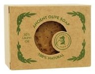Ancient Olive Soap - Classic Bar Soap with 30% Laurel Oil - 7 oz.
