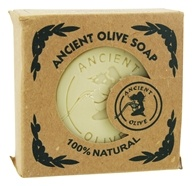 Ancient Olive Soap - Molded Square Bar Soap Natural - 5.29 oz.