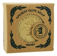 Ancient Olive Soap - Molded Square Bar Soap Honey - 5.29 oz.