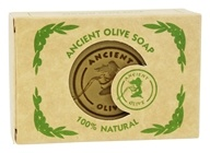 Ancient Olive Soap - Molded Rectangular Bar Soap Natural - 3.53 oz.