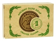 Ancient Olive Soap - Molded Rectangular Bar Soap Orange Flower - 3.53 oz.