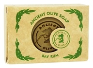 Ancient Olive Soap - Molded Rectangular Bar Soap Bay Rum - 3.53 oz.