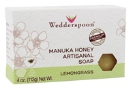 Wedderspoon - Manuka Honey Artisanal Bar Soap Lemongrass - 4 oz.