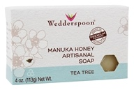 Wedderspoon - Manuka Honey Artisanal Bar Soap Tea Tree - 4 oz.
