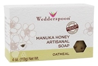 Wedderspoon - Manuka Honey Artisanal Bar Soap Oatmeal - 4 oz.