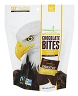Endangered Species - Dark Chocolate Bites Caramel & Sea Salt - 4.7 oz.