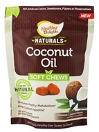 Healthy Delights - Gluten Free Naturals Coconut Oil Soft Chews Coconut Caramel Flavor - 30 Soft Chews