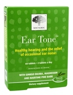 New Nordic - Ear Tone with Ginkgo Biloba, Magnesium and Maritime Pine Bark - 60 Tablets