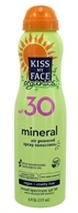 Kiss My Face - Mineral Air Powered Spray Sunscreen 30 SPF - 6 oz.