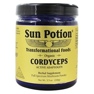 Sun Potion - Organic Cordyceps Mushroom Powder - 3.5 oz.