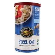Organic Whole Grain Steel Cut Oats - 30 oz. by Nature's Path Organic