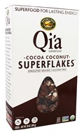 Qi'a Superfood Superflakes Cocoa Coconut - 10 oz. by Nature's Path Organic