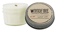 Woodfire Candle Company - Jelly Jar Soy Candle No. 007 Mulled Cider - 4 oz.