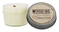 Woodfire Candle Company - Jelly Jar Soy Candle No. 012 Tobacco Honey - 4 oz.
