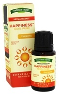 Nature's Truth - 100% Pure Essential Oil Blend Happiness - 0.51 oz.
