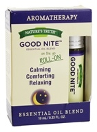 Nature's Truth - Roll-On Essential Oil Blend Good Nite - 0.33 oz.
