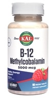 Kal - Vitamin B12 Adenosylcobalamin ActivMelt Strawberry 1000 mcg. - 90 Tablets