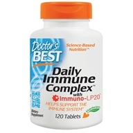 Doctor's Best - Daily Immune Complex with Immuno-LP20 - 120 Tablet(s)