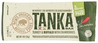 Tanka Bar - Turkey & Buffalo Bar with Cranberries Jalapeno - 1 oz.