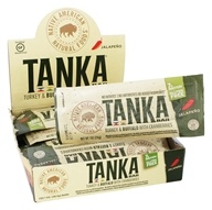Tanka Bar - Turkey & Buffalo Bar with Cranberries Jalapeno - 12 Bars