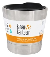 Klean Kanteen - Stainless Steel Vacuum Insulated Tumbler Brushed Stainless - 8 oz.